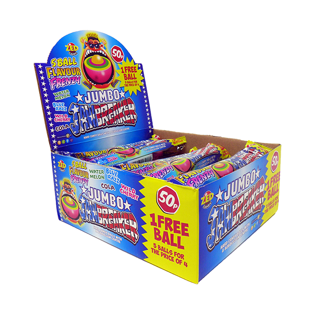 USA Jumbo Jawbreaker 5 for 4