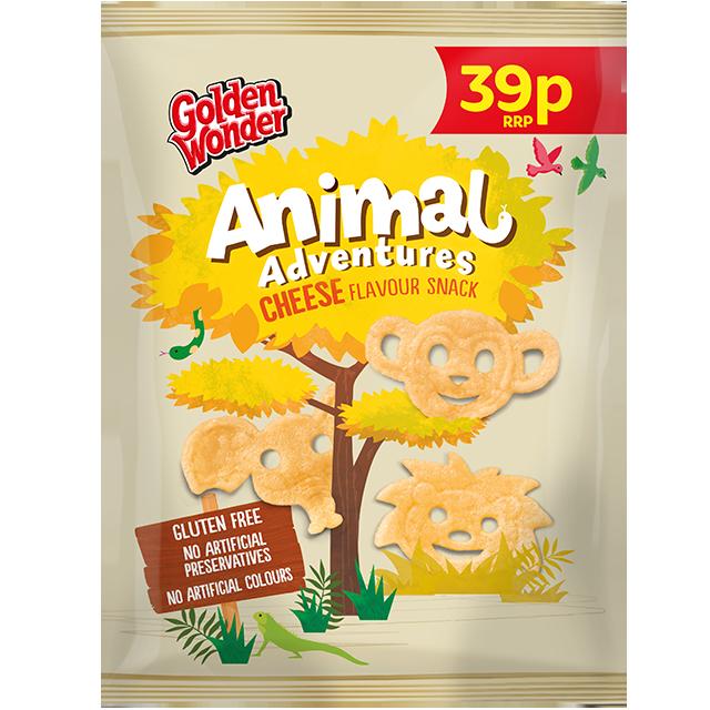 Golden Wonder Animal Adventures Cheese