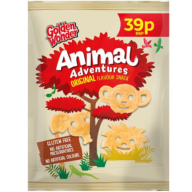 Golden Wonder Animal Adventures Original