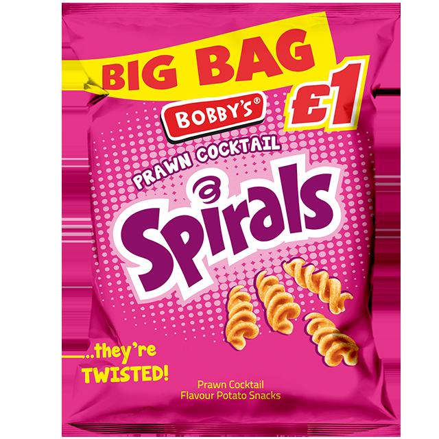 Big Bag Prawn Cocktail Spirals
