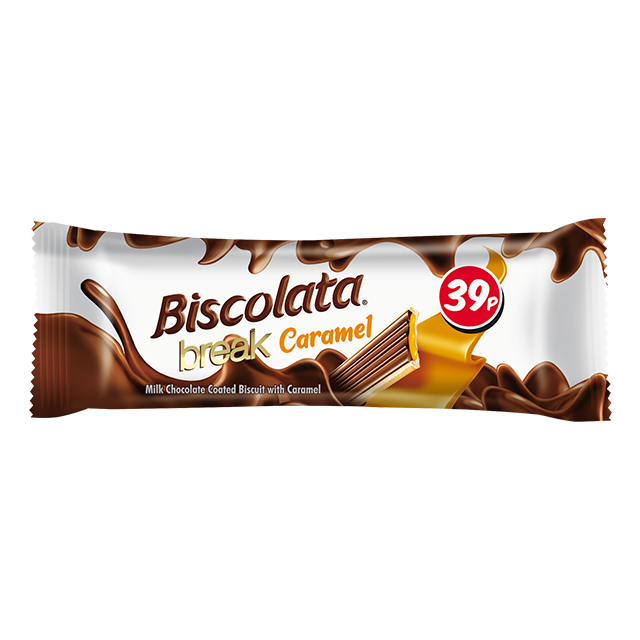 Biscolata Break Caramel