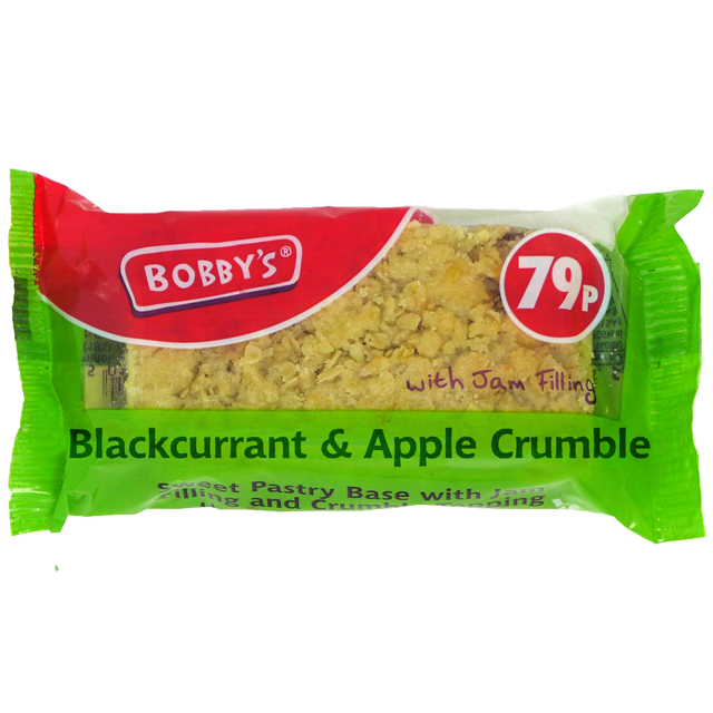 Blackcurrant and Apple Crumble
