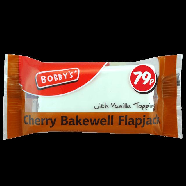 Cherry Bakewell Flapjack