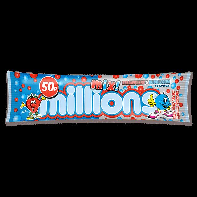 Millions Mix Strawb and Bubblegum