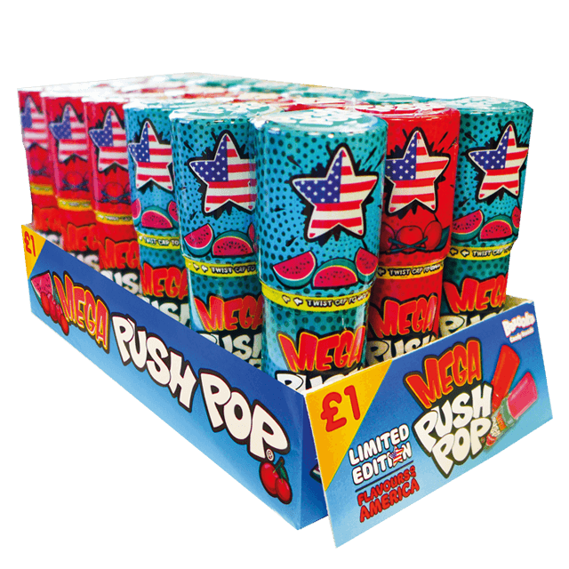USA Mega Push Pop