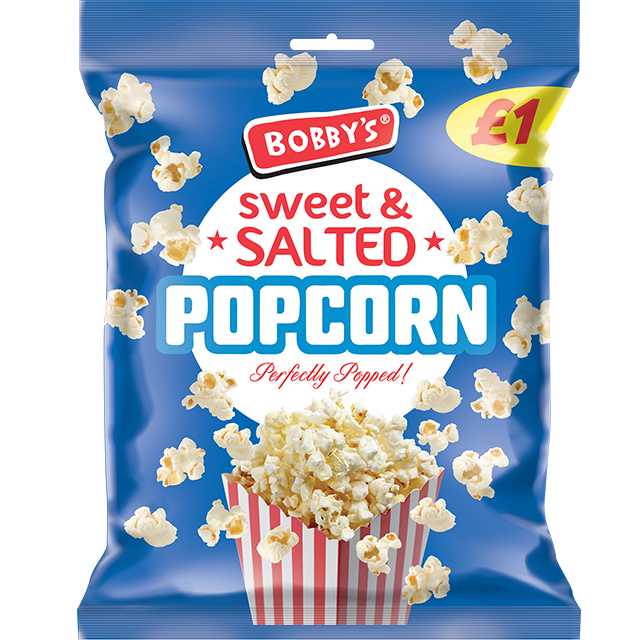 Sweet and Salted Popcorn