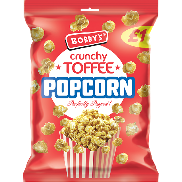 Crunchy Toffee Popcorn