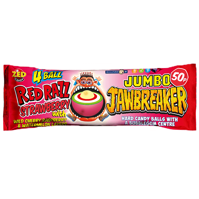 Red Razz Jawbreaker